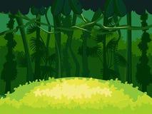 Floresta tropical exótica Fotos de Stock Royalty Free