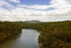 Floresta tropical na estrada a Kuranda Imagem de Stock