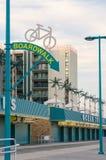 Floresta virgem, New-jersey, EUA - 26 de maio de 2016: Vista no passeio à beira mar, Imagem de Stock Royalty Free