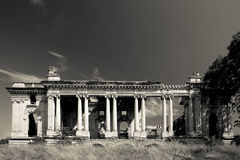 Floresti palace ruins Stock Photo