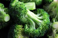 Florets dos brócolis Fotos de Stock