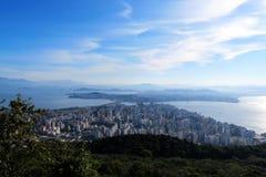 Florianà ³polis - Santa Catarina - Brasilien Arkivbilder