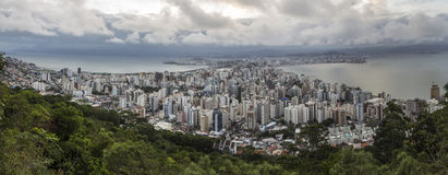 Florianópolis/SC - Brazil royalty free stock photos
