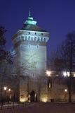 florian πύλη Κρακοβία Πολωνία s ST Στοκ Εικόνες