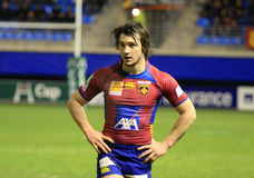Florian Cazenave of USA Perpignan Royalty Free Stock Images