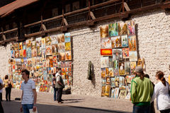 Florian Gate Royalty Free Stock Photos