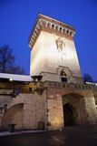 Florian Gate in Krakow Stock Image