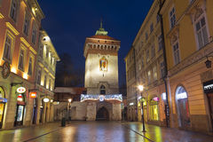 Florian gate in Krakow Royalty Free Stock Photo