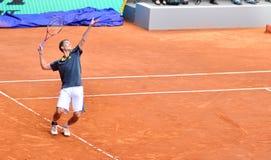 Florian Mayer στο ATP Mutua ανοικτή Μαδρίτη Στοκ εικόνα με δικαίωμα ελεύθερης χρήσης