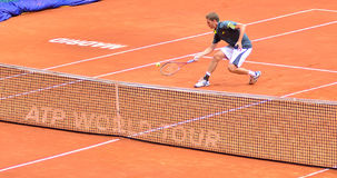 Florian Mayer at the ATP Mutua Open Madrid Royalty Free Stock Image
