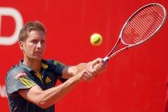 Florian Mayer-ATP Tennisspeler Stock Foto