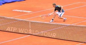 Florian Mayer en el ATP Mutua Madrid abierta Imagen de archivo libre de regalías