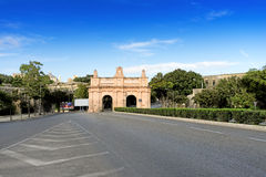 Floriana Gate Arkivfoton