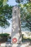 Floriana, Malta - 9 maggio 2017: Il ` s di re possiede il memoriale del reggimento di Malta in Floriana Fotografia Stock