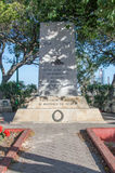 Floriana, Malta - May 9, 2017: Royal Malta Artillery Memorial WWll.  Monument to the glory of God and in memory of all ranks Royal. Royal Malta Artillery Stock Photos