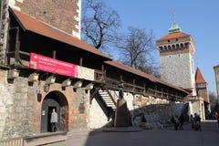 Floriana walls Stock Photo