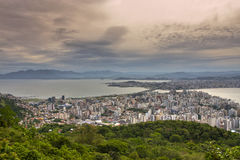 Florianopolis Brazil. On summer, blue sky Stock Image