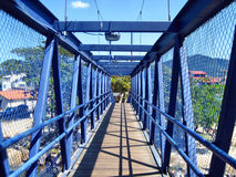 Florianopolis bridge. Bridge connecting different parts of Florianopolis royalty free stock photography