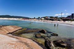 Florianopolis ZK de la playa Fotografía de archivo libre de regalías