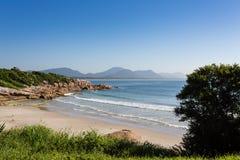 Florianopolis ZK de la playa Foto de archivo libre de regalías