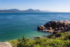 Florianopolis ZK de la playa Imagen de archivo libre de regalías