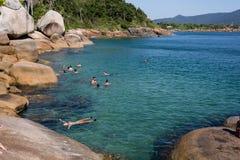 Florianopolis ZK de la playa Imágenes de archivo libres de regalías