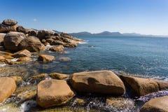 Florianopolis ZK de la playa Fotos de archivo libres de regalías
