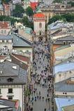Florianska shopping street, Krakow Royalty Free Stock Photo