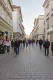 Florianska street Royalty Free Stock Image