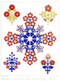 Floriated Ornaments Plate 16 Stock Image
