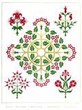Floriated Ornaments Plate 19 Stock Photos