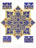 Floriated Ornaments Plate 27 Royalty Free Stock Photography