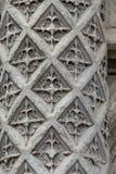 Floriated Spalte am Eingang Blois-Schloss Lizenzfreies Stockfoto