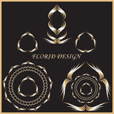 Florid Design Vector Illustration Royalty Free Stock Photo