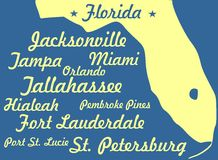 Florida Royaltyfri Fotografi