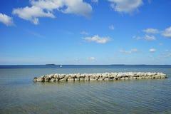 Florida apollo beach Royalty Free Stock Images