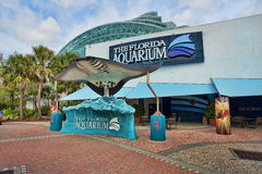 The Florida Aquarium. In downtown Tampa, Florida Royalty Free Stock Photos