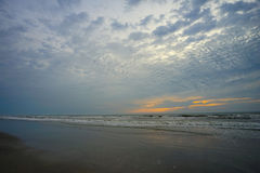 Florida atlantic beach morning Royalty Free Stock Photos