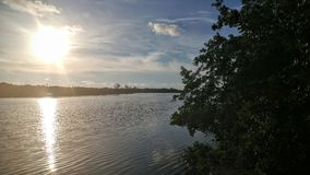 Florida Bay. Nature, park, shoreline, sunset Royalty Free Stock Images