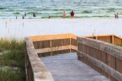 Florida beach access Stock Photo