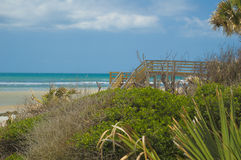 Florida Beach near St Augustine Stock Photo