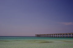 Florida Beach. Panama City Beach Florida Fishing Pier Royalty Free Stock Images