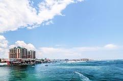Florida beach scene royalty free stock photography
