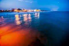 Florida beach scene Royalty Free Stock Image