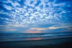 Florida beach sunset Royalty Free Stock Photo