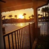 Florida sunser royalty free stock image