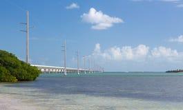 Florida befestigt die sieben-Meilen-Brücke Stockbild