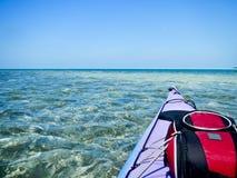 Florida befestigt Kajak-Abenteuer Lizenzfreies Stockfoto