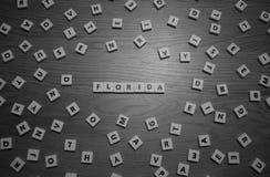 Florida bokstäver Royaltyfri Foto