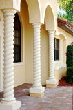 Florida building columns Stock Photos